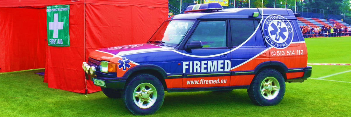 firemed - ambulans terenowy